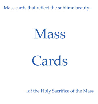 Click here to shop our Mass card collection.